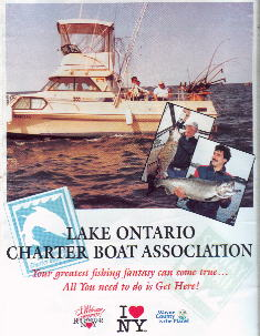 Fishing Lake Ontario aboard Fantasy Charters